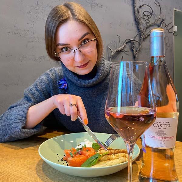 Эксперимент: Розе из Прованса и блины